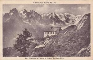 Chalet de la Flegere et Chaine du Mont-Blanc, CHAMONIX-MONT-BLANC, Rhone-Alpe...