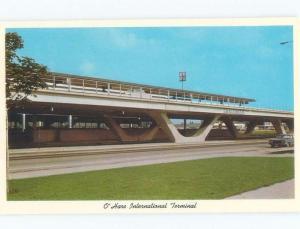 Pre-1980 AIRPORT SCENE Chicago Illinois IL E3454