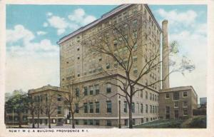 The New YMCA Building Providence RI, Rhode Island WB