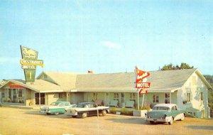 Lake Ozark MO Campbell's Lake House Restaurant & Motel Old Cars Postcard