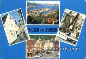 Hilsen fra Bergen Norway Postal Used Unknown