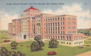 Brooke General Hospital Fort Sam Houston San Antonio TX Texas - pm 1952 - Linen