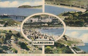 LLANDUDNO, Wales, 1940-50s; 5-Views, The Rock Gardens, Happy Valley, Great Or...