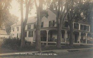 RP; HARRISON , Maine , 1900-10s ; The Elms Inn
