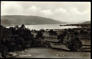 cumbria, CONISTON, Lake Scene (1930s) RPPC