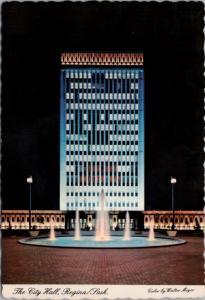 The City Hall Regina SK Saskatchewan Walter Meyer Unused Vintage Postcard D53