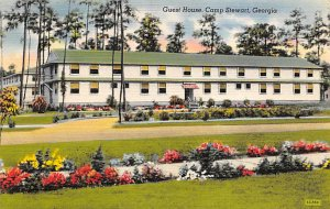Military Post Card Guest House at Camp Stewart Savannah, Georgia, USA Unused