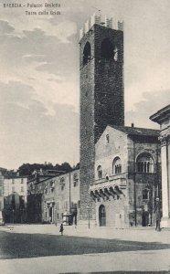 BRESCIA, Lobardia, Italy, 1900-1910s; Palazzo Broletto, Torre Delle Grida