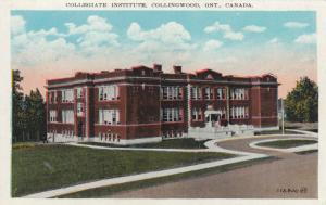 COLLINGWOOD , Ontario , Canada , 00-10s ; Collegiate Institute