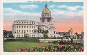 Cuba Havana The Capitol Building