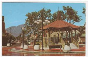 Downtown Mall Upland California postcard