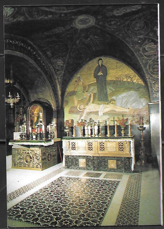 Jerusalem, Church of the Holy Sepulchre, interior, unused