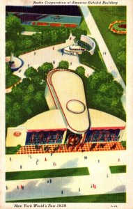 New York World's Fair 1939 The Radio Corporation Of America Exhibit Buil...