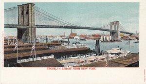NEW YORK CITY , 1901-07 ; Brooklyn Bridge