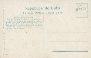 HABANA, Cuba, 1900-10s; Casino De La Playa, The National Casino at Marianao