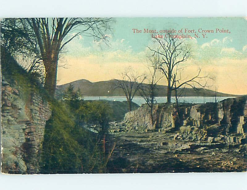 Unused Divided-Back POSTCARD FROM Plattsburgh New York NY HM5662