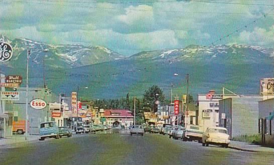 Main Street , SMITHERS , B.C. , Canada , 50-60s