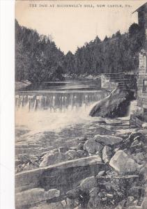 The Dam at McConnell's Mill,  New Castle,  Pennsylvania,  PU_1909