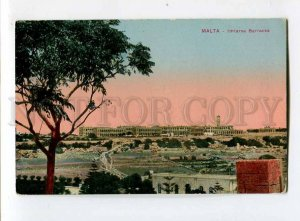 3081320 MALTA Imtarsa Barracks Vintage colorful PC