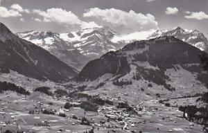 Switzerland Gstaad Wildhorn Geltengrat Spitzhorn Totalansicht Photo