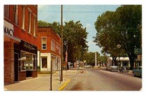 OH - Mt. Gilead. Main Street Scene