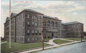 Washington Seattle High Scholl 1910