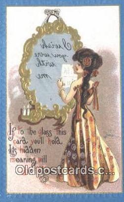 Dwig Postcard Dwiggens Post Card Artist Signed Old Vintage Antique Series 30 ...
