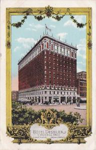 Ohio Columbus Hotel Deshler 1921