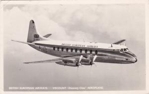 RP,:Airplane British European Airways, Viscount 'Discovery Class' PU-1953