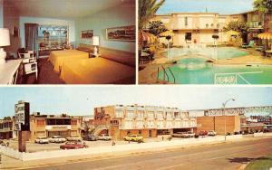 Corpus Christi Texas Mayflower Hotel Multiview Vintage Postcard K50449