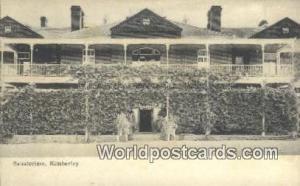 Kimberley South Africa Sanatorium Kimberley Sanatorium