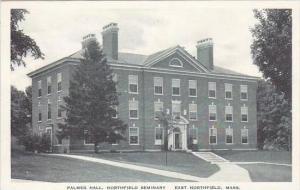 Massachusetts East Northfield Palmer Hall Northfield Seminary Albertype