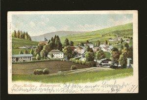 Austria Postmark 1903 Ober-Moldau Bohmerwald Postcard