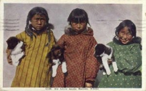 Six Little Arctic Natives - Misc, Alaska AK