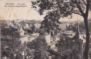 Fraance Fougeres Vue prise des Carriers Saint-Sulpice 1951
