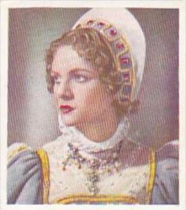 Godfrey Phillips Cigarette Card Characters Come To Life No 27 Nova Pilbeam as...