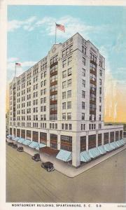 Montgomery Building , Spartanburg , South Carolina , PU-1935