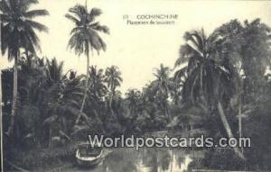 Vietnam, Viet Nam,  Nhân Vật Cochinchine Plantation de'Cocotiers
