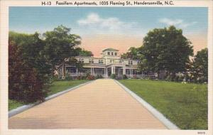 North Carolina Hendersonville Fassifern Apartments