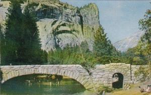California Royal Arches & Washington Column From Merced River Yosemite Nation...