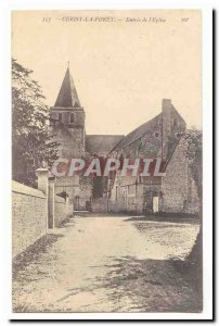 Cerisy the Drill Old Postcard Entry of & # 39eglise