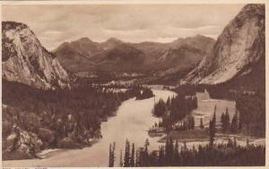 Aerial View of Bow Valley, Banff, Alberta, Canada, 10-20s