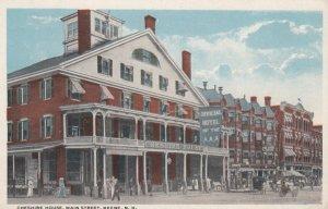 KEENE, New Hampshire, 1900-10s; Cheshire House, Main Street