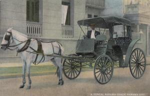 A Typical Panama Coach , Panama City , 1900-1910's