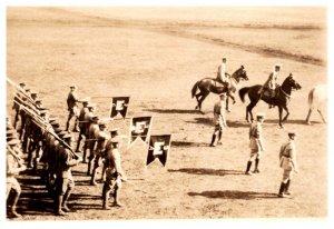 WW 1  France  Cavalry Parade Photo