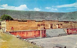 Oaxaca Mexico Postcard Tarjeta Postal Ruinas de Mitla Oaxaca