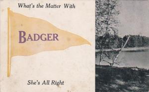 Pennant Series Badger Iowa 1912