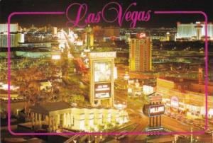 Nevada Las Vegas Aerial View Of The Strip