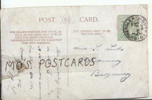 Genealogy Postcard - Luke - Polentamney - Ballymoney - Ireland - Ref 674B
