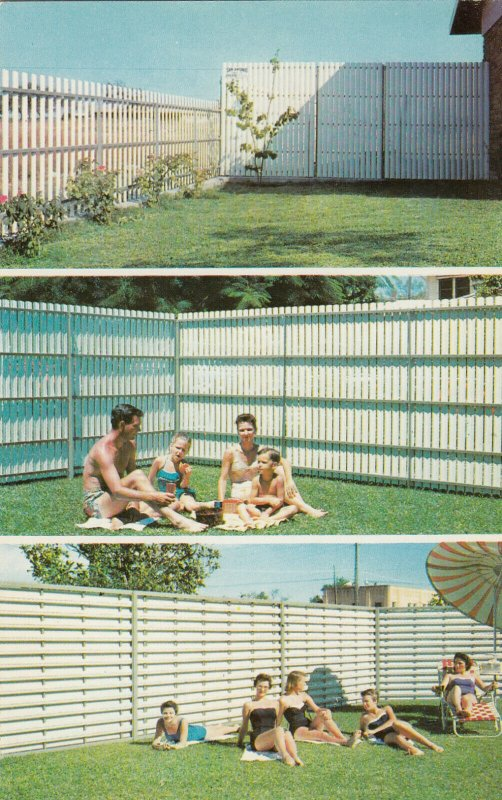 MINERAL WELLS , Texas, 1940-60s; Panel-Vent Fencing, 3-views